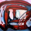 Marion Lucka: Schlafende, Ö, 60 x 80 cm (2004)