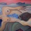 Marion Lucka: Fischgefühle, 70 x 100 cm (2009)