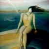 Marion Lucka: Karussell, Öl, 30 x 40 cm (1990)