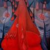 Marion Lucka: Ölgemälde, Blutfrau, 60 x 80 cm (2005)