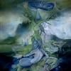 Marion Lucka: Nymphen, Öl, 70 x 90 cm (1980)
