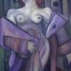 Marion Lucka: Herbstliche, Öl, 70 x 100 cm (2007)