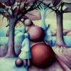 Marion Lucka: Spielende Kinder, Aquarell, 30 x 40 cm (1986 )present