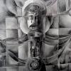 Marion Lucka: November93, Aquarell, 40 x 50 cm (1993)