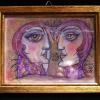 "Aquarell ""Paar"" 10 x 15 cm (2019) sold"