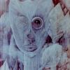 Marion Lucka: Schlimmer Traum, 20 x 30 cm (1981)
