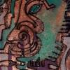 Marion Lucka: Seitenansicht, Aquarell, (1993)