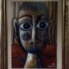 Marion Lucka: Kind, Mischrechnik, 15 x 20 cm (1996)