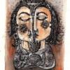 "Marion Lucka: Aquarell "" Julipaar"" 12 x 18 cm (2016)"