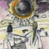 "Aquarell ""Sonnenfinsternis"" (1999)"