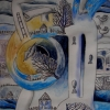 "Marion Lucka: Aquarell "" Winter"" 20 x 30 cm (1996)"