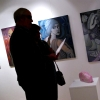 Marion Lucka: Ausstellungseröffnung in der Kunstgalerie im Alten Rathaus in Schwarzenbach/Saale (2014)
