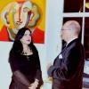 Marion Lucka: Ausstellung im Bürgerzentrum Münchberg. Im Gespräch mit Dr. Phil. Berbig (2001)