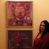Marion Lucka: Kunstsaat in der Galerie im Theresienstein Hof (2010)