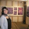 """In der Ausstellung """"Vom Diesseits in Jenseits"""" im Gerätemuseum Bergnersreuth 2011 (Ausstellungsaufbau)"""