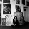In der Arzberger Galeriewohnung (1996)