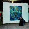 Marion Lucka: Ausstellung in der Galerie im Gerstenboden, Hof (1998)