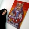 Marion Lucka: Ausstellung in der Bezirksklinik Rehau (2015)kinik Rehau (2015