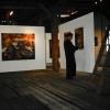 Ausstellungsaufbau in der Galerie im Gerstenboden Hof 1996