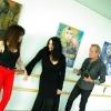 Marion Lucka: Ausstellung im Gesundheitszentrum Waldsassen (2014) Mit Lynn und Klaus Lucka von zelberschwecht