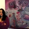 """Marion Lucka: """"Kunstsaat"""" Galerie im Theresienstein, Hof (2010)"""