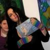 Marion Lucka: Ausstellungseröffnung in der Kunstgalerie im Alten Rathaus in Schwarzenbach/Saale (2014)8_n