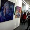 Marion Lucka: Ausstellung im Bio-Fair-Kunst-Genuss Bad Steben (20. November 2016)
