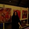 """Marion Lucka: Ausstellungseröffnung """"Künstler in Hochfranken"""" im Bürgersaal der Stadt Helmbrechts (Mai 2017)"""