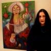 Marion Lucka: Mitgliederausstellung des Selber Kunstvereins (April 2017) im Kösseine Einkaufszentrum Marktredwitz