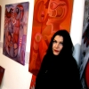 """Marion Lucka: """"Rote Bildergeschichten"""" im Modewerk-Viania Dessous zur Kunstnacht 2017"""