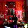 "Marion Lucka: Ausstellung "" Überwiegend Rot"" Cafè PerLplex, Marktredwitz (2016)"