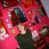 Marion Lucka: Ausstellungsaufbau im Cafè PerLplex, Marktredwitz (2016