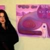 """Marion Lucka: Ausstellung """"Seelenbilder"""" Rosenthal-Theater Selb (2006) Selb (1994)"""