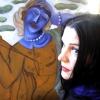 Marion Lucka: die Frau mit der Blumenwunde entsteht...(2013)