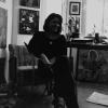 Marion Lucka: In der Atelierwohnung in Arzberg (1996)