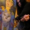 Marion Lucka: Jasminkas Portrait entsteht (2014)