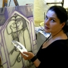 Marion Lucka: Oberfränkische Malertage im Volkskundlichen Gerätemuseum Bergnersreuth (2010)