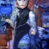 Marion Lucka: Mächtige, Öl, 70 x 100 cm (2010)