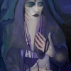Marion Lucka: Schwarze Madonna, Öl, 60 x 80 cm (2009)