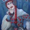 Marion Lucka: Schweigende, Öl, 60 x 80 cm (2009)