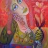 """Ölgemälde """"Frau im Januar"""" 60 x 80 cm (2020)"""