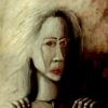 Marion Lucka: Ohne Hoffnung, Öl, 30 x 40 cm (1989)