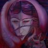 Marion Lucka: Tief, Öl, 60 x 80 cm (1998)