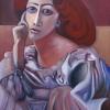 Marion Lucka: Sarah, 60 x 80 cm (2007)