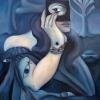 Marion Lucka: Geheimnis, 60 x 80 cm (2008)
