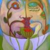 Marion Lucka: Septemberpaar, 50 x 70 cm (2015