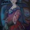 Marion Lucka: Bedrohte, Öl, 60 x 80 cm (2012)
