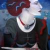 Marion Lucka: Rothaarige, 60 x 80 cm (2009)