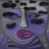 Marion Lucka: Nebel, 40 x 40 cm (2013)