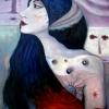 """Marion Lucka: """"Bewusste"""", Öl, 60 x 80 cm (2009)"""